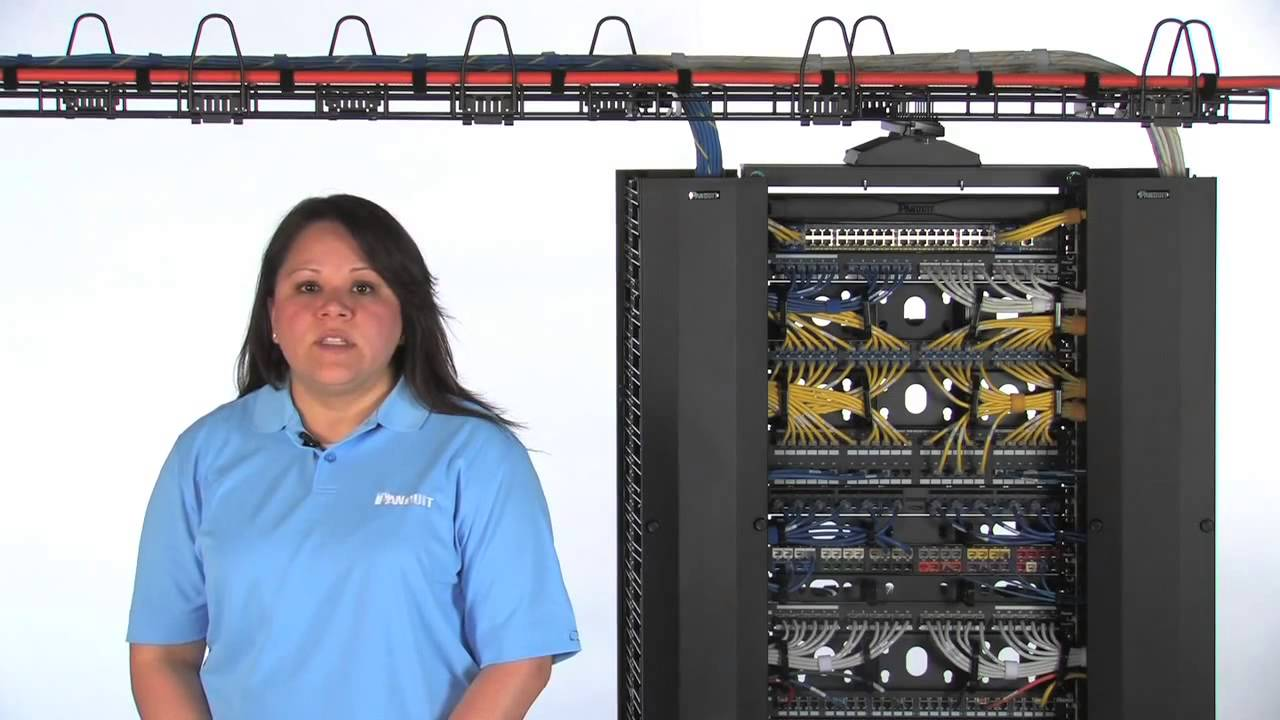 Panduit 174 Wyr Grid 174 Overhead Cable Tray Routing System