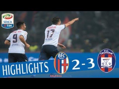 Bologna - Crotone 2-3 - Highlights - Giornata 12 - Serie A TIM 2017/18