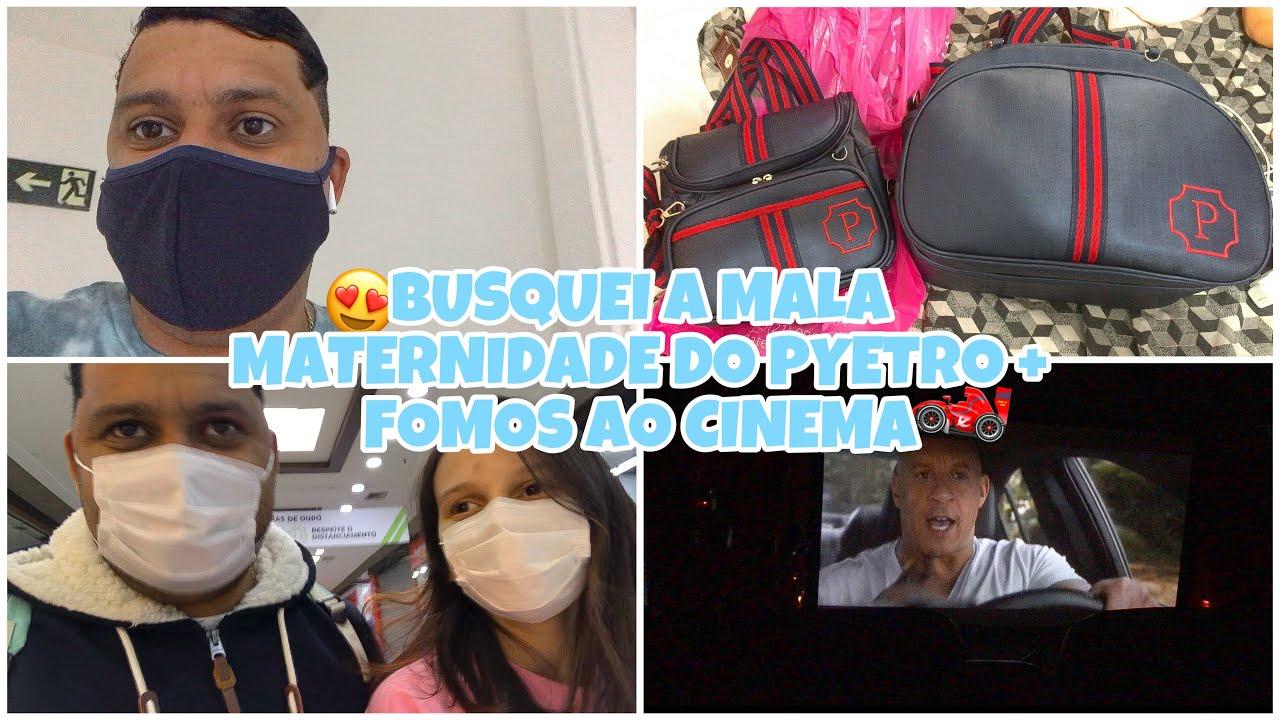 MALA MATERNIDADE + DIA DE CINEMA!