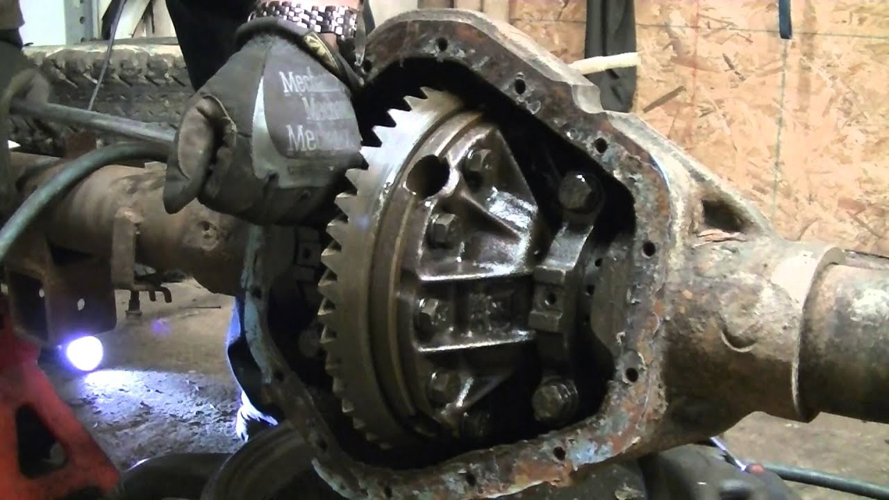 Dissection Of A Chevy 34 Ton Rear End  YouTube