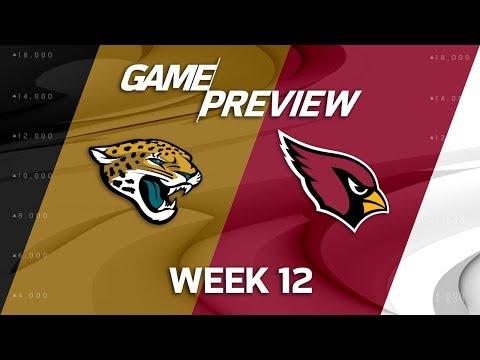 Jacksonville Jaguars vs. Arizona Cardinals   NFL Week 12 Game Preview   NFL Playbook