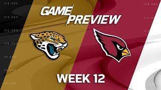 Jacksonville Jaguars vs. Arizona Cardinals | NFL Week 12 Game Preview | NFL Playbook