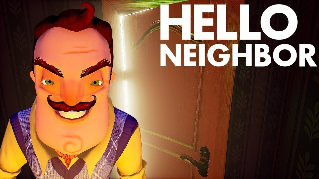 You Have An Ugly Mustache Hello Neighbor Youtube