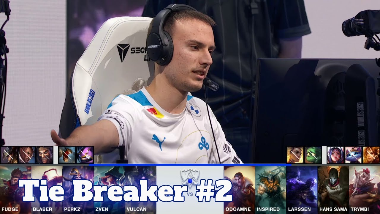 Download C9 vs RGE - Tie Breaker | Day 4 Group A S11 LoL Worlds 2021 | Cloud 9 vs Rogue - Groups full game