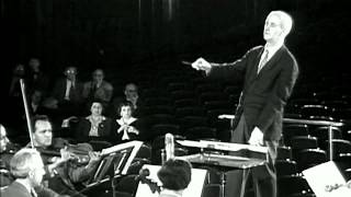 rare footage of W. Furtwangler rehearsing Schubert's Unfinished Symphony