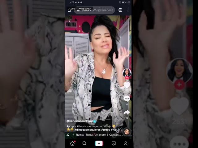 La Venenosa Ignora Polemica Con Telemundo Y Baila Al Ritmo De Camilo En Tiktok Tribuna