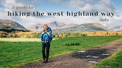A Guide to Hiking the West Highland Way