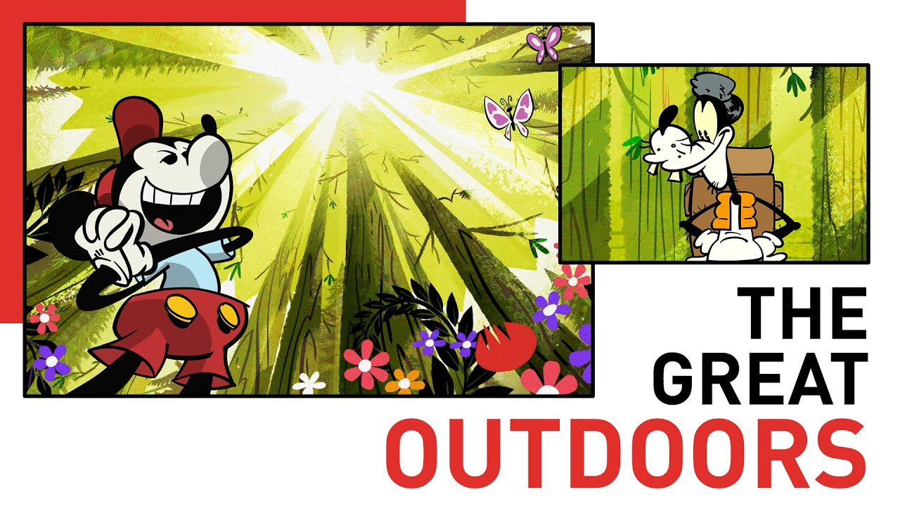 Mickey and Friends Camp in the Great Outdoors | Style of Friendship | Disney Shorts