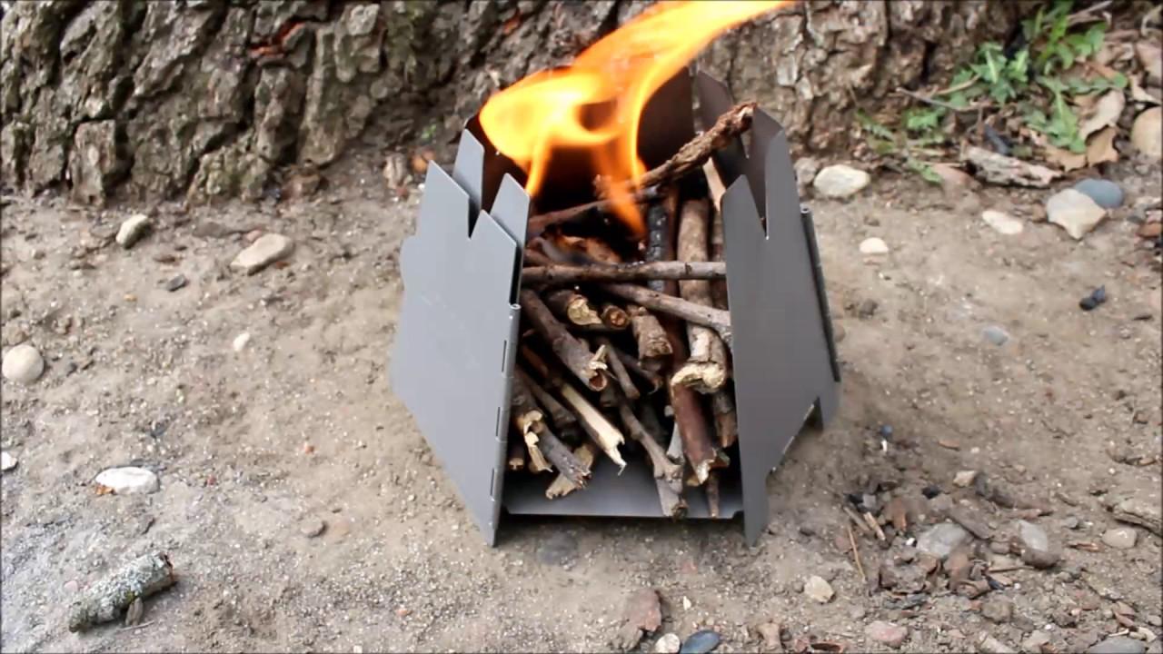 Vargo Titanium Hexagon Wood Stove