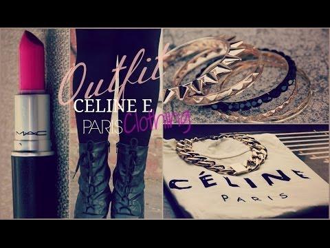 Outfit CÉLINE Paris/ Clothing MaryTó Chocolate