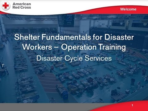 Operational Training for Shelter Workers