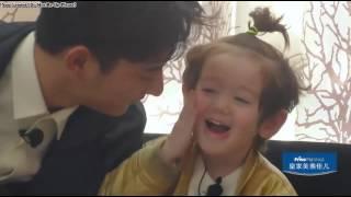 """[Vietsub HD] Baby Để Anh Đi Mùa 2 - Trò chơi """"Anh hôn em lau"""" của Tiểu Đồng và Tiểu Jack"""