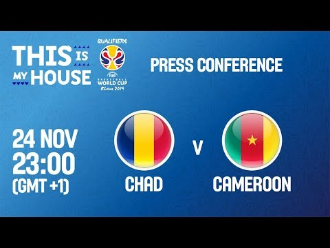 Chad v Cameroon - Press Conference - FIBA Basketball World Cup 2019 African Qualifiers