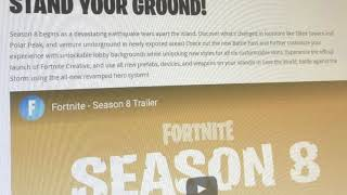 Fortnite Just Accidentally LEAKED Season 8