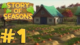 Story of Seasons ( English ) - Gameplay Walkthrough Part 1 - First 30 Minutes [ 3DS ]