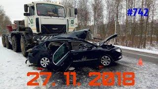 ☭★Подборка Аварий и ДТП/Russia Car Crash Compilation/#742/November 2018/#дтп#авария