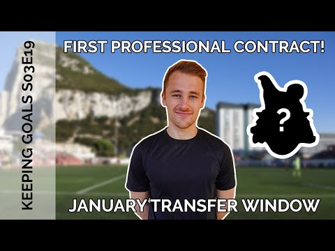 Signing My First Professional Football Contract | Keeping Goals - S3Ep19
