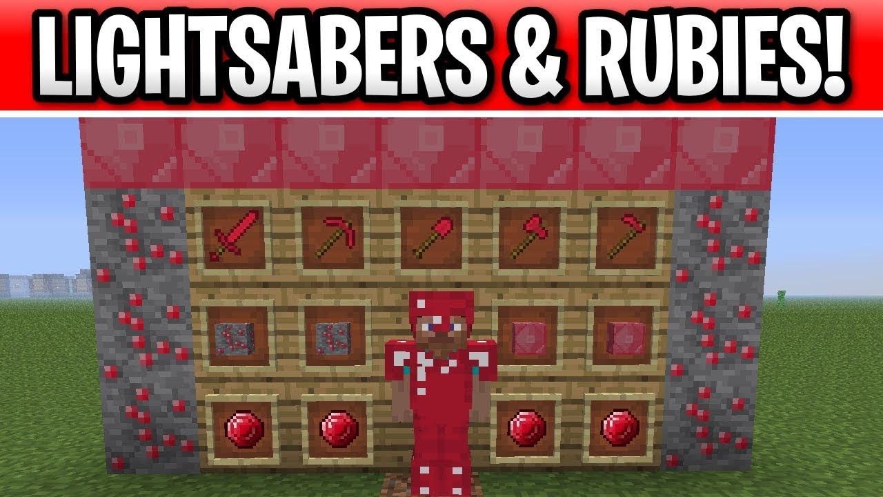Minecraft 11.111 Lightsabers, Rubies & Sledgehammers? Feedback Episode 11
