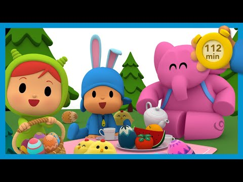 🎁🥚 POCOYO AND NINA - Surprise Eggs [112 Minutes] | ANIMATED CARTOON For Children | FULL Episodes