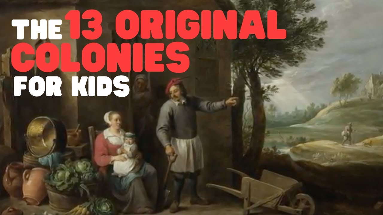 The 13 Colonies for Kids   Learn all about the first 13 American Colonies -  YouTube [ 720 x 1280 Pixel ]