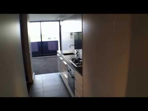 """Rental Property Melbourne"" Southbank Property 1BR/1BA - 1214/39 Coventry St"