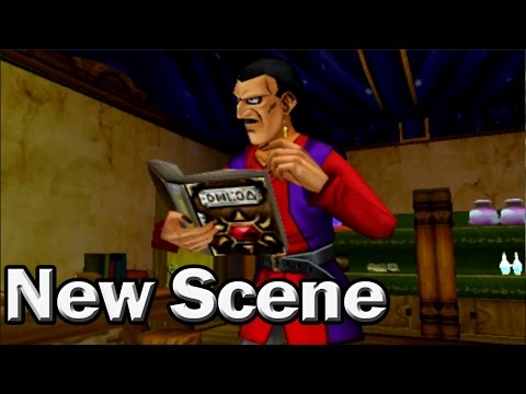 Dragon Quest 8 3DS New Scene: Dhoulmagus's Past