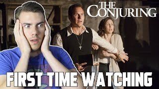 FIRST TIME WATCHING - The Conjuring (2013) -  MOVIE REACTION