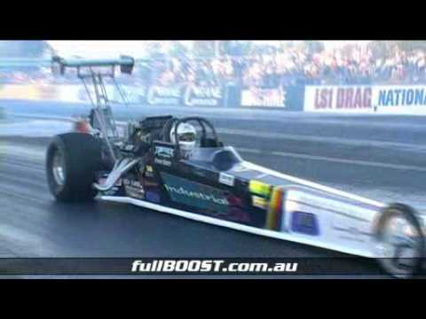 6-second rail dragster