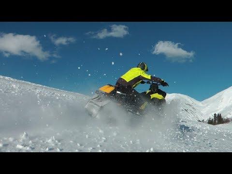 Снегоходы! Красивое видео! Сочи! Snowmobiles! Beautiful video! Sochi!