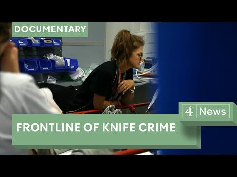UK knife crime: the London trauma ward at the frontline