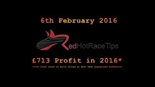 Horse Racing Tips Today… 06/02/16 Wetherby NAP from RedHotRaceTips.co.uk