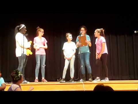 Cassie's play - Orchard Grove Elementary school ( Drama club 2018 )