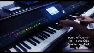 Sword Art Online ED 1 - Yume Sekai (ユメセカイ) - Piano cover