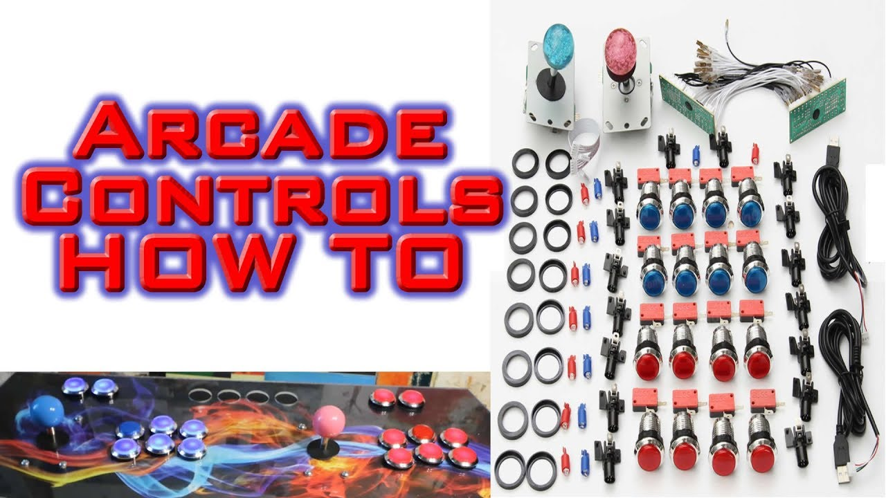 led arcade button kit unboxing review and how to setup wire [ 1280 x 720 Pixel ]