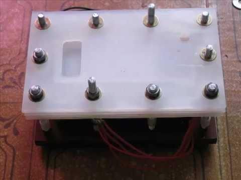 Сборка электролизера