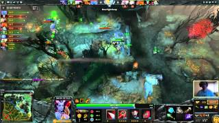 Chessie Dota 2 - 7K+ Queen of Pain commentary gameplay