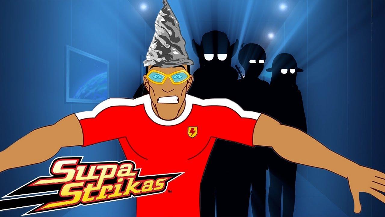 Supa Strikas Vs FC Orion ⚽   Klaus Begegnung mit der Nerd-Art   Fußball - Cartoons für Kinder