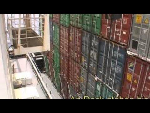 Frachtschiffreisen - An Bord der Cosco Karachi - Teil 1