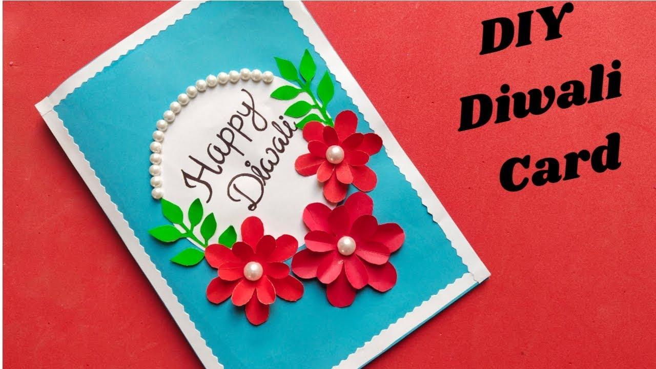 diy diwali card handmade easy diwali popup card making