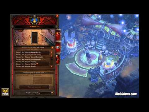 Diablo 3 - Jeweler And Mystic Update, Tyrael Hoodie, Blizzard LFG (Purgatory 11/28/11)