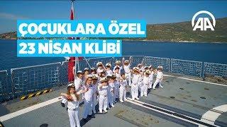 Deniz Kuvvetleri Komutanlığı'ndan çocuklara özel 23 Nisan klibi