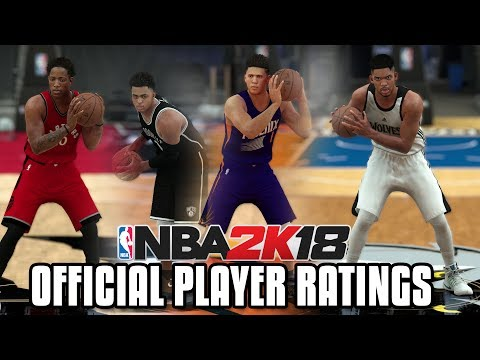 NBA 2K18 RELEASES MORE OFFICIAL PLAYER RATINGS!