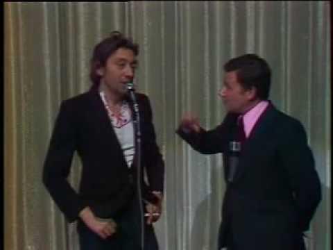 Serge Gainsbourg - Nazi rock (live) - Bouvard en liberté 1975(?)