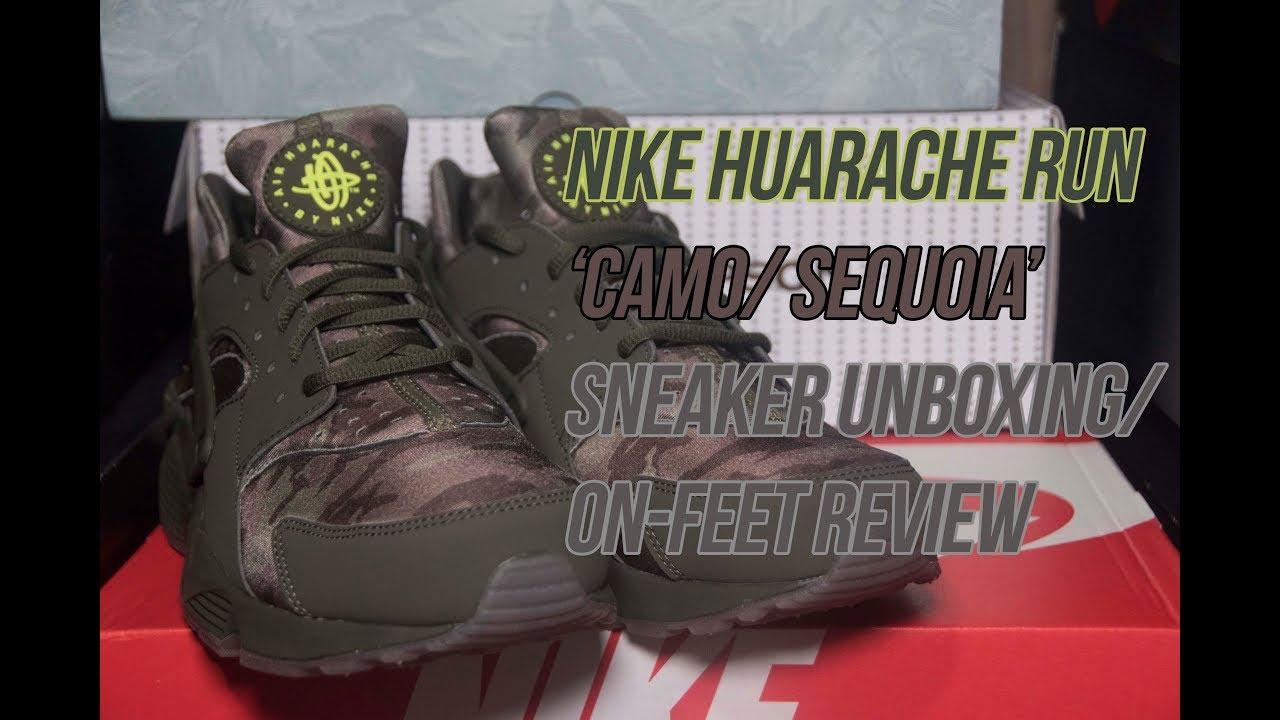 big sale 1a874 29e79 Nike Air Huarache Run  Camo    Solepost Unboxings