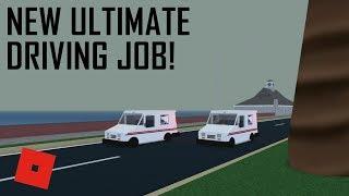 NEW JOB?! | ROBLOX - Ultimate Driving Westover Islands