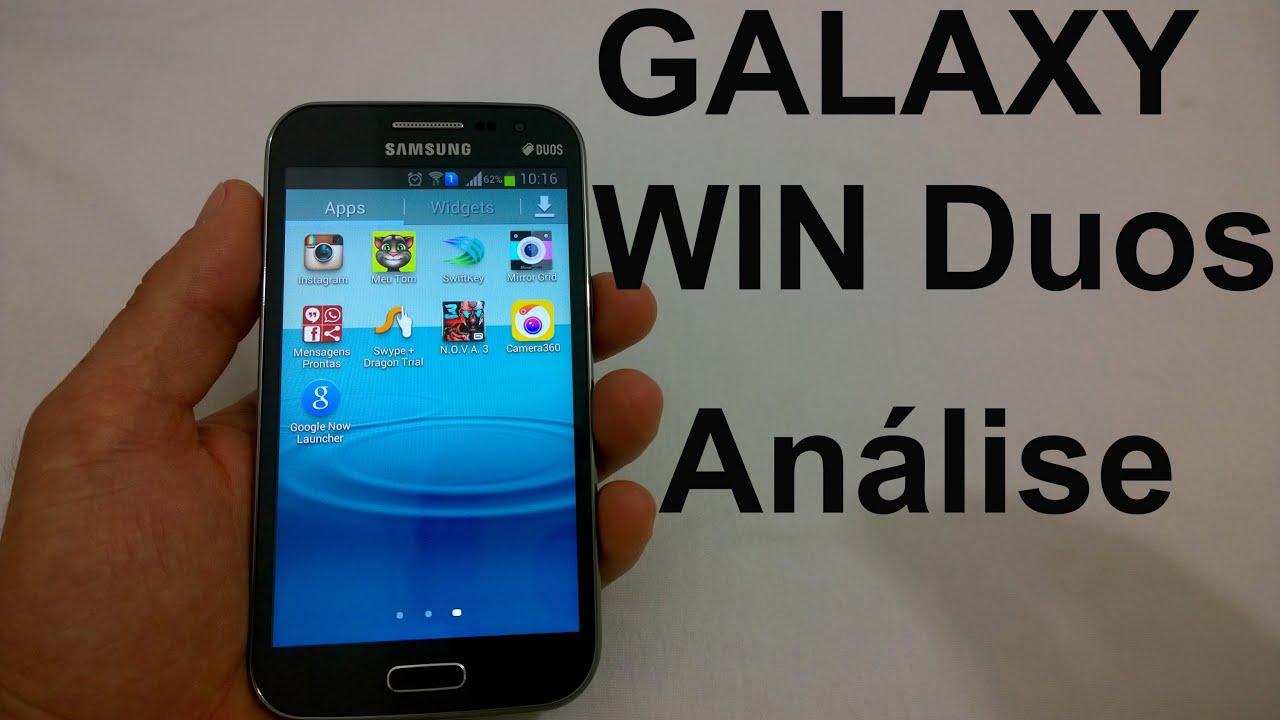 smartphone galaxy win duos casas bahia