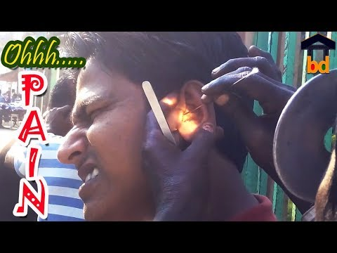 ►Start With PAIN But Finishing Feel COMFORTABLE II Street Ear Wax Cleaner With Full Setup