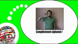 Французского видео урок = Жесты и выражения, № 4