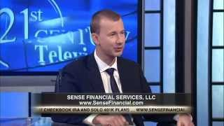 self directed solo 401k plan for self employed being discussed on tv