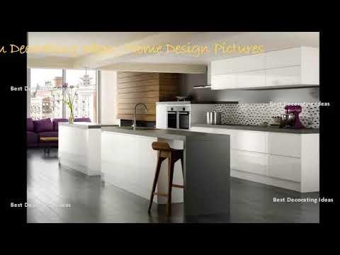 High gloss white kitchen designs | Modern Style Kitchen decor Design Ideas & Picture